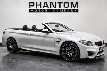 2017 BMW M4 3.0 M4 COMPETITION PACKAGE 2d AUTO 444 BHP £40490.00