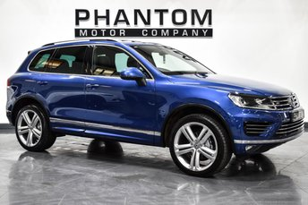 2016 VOLKSWAGEN TOUAREG 3.0 V6 R-LINE PLUS TDI BLUEMOTION TECHNOLOGY 5d AUTO 259 BHP £27990.00