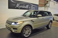 USED 2014 14 LAND ROVER RANGE ROVER SPORT 3.0 SDV6 HSE 5d AUTO 288 BHP SAT NAV - LEATHER - SLIDING GLASS PANROOF - R/CAMERA - HEATED MEMORY SEATS - DAB