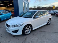 USED 2012 61 VOLVO C30 2.0 R-DESIGN 3d 145 BHP FULL DEALER SERVICE HISTORY