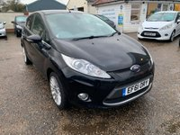 USED 2012 61 FORD FIESTA 1.4 TITANIUM 5d 96 BHP COMPREHENSIVE SERVICE HISTORY