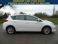 USED 2014 64 TOYOTA AURIS 1.6 ICON VALVEMATIC 5d 130 BHP Low Mileage,Service History,New MOT,One Owner
