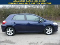 USED 2011 60 TOYOTA AURIS 1.4 TR D-4D 5d 89 BHP Low Mileage,One Owner,Full Toyota Service History