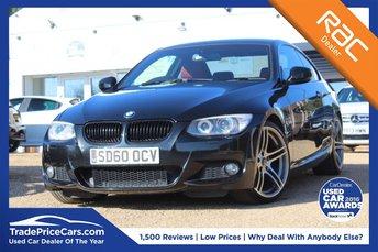 2010 BMW 3 SERIES 2.0 320I M SPORT 2d 168 BHP £7995.00