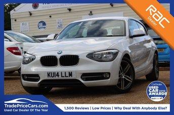 2014 BMW 1 SERIES 1.6 114I SPORT 3d 101 BHP £9950.00