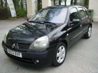 2003 RENAULT CLIO 1.1 DYNAMIQUE 16V 5d 75 BHP £995.00