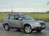 USED 2010 10 SUBARU FORESTER 2.0 D XC 5d 147 BHP 1 OWNER, FULL HISTORY, IMMACULATE,