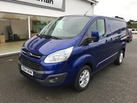 2014 FORD TRANSIT CUSTOM 2.2 290 LIMITED 155 BHP £SOLD