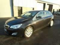 USED 2010 60 VAUXHALL ASTRA 1.6 ELITE 5d 113 BHP SAT NAV LEATHER 69000 MILES