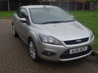 USED 2010 10 FORD FOCUS 2.0 CC3 2d 144 BHP