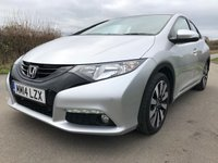 2014 HONDA CIVIC 1.8 I-VTEC SE PLUS 5d 140 BHP £7995.00