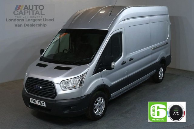 2017 67 FORD TRANSIT 2.0 350 L3 H3 130 BHP LWB ALLOYS TREND AIR CON EURO 6 VAN AIR CONDITIONING EURO 6 TREND
