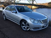 2011 MERCEDES-BENZ E CLASS 2.1 E220 CDI BLUEEFFICIENCY SE 4d 170 BHP £9990.00