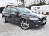 USED 2012 12 VOLVO V50 2.0 D3 SE LUX EDITION 5d AUTO 148 BHP 1 PRV OWNER + FULL SERV HIST
