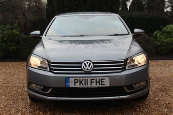 2011 VOLKSWAGEN PASSAT 2.0 SE TDI BLUEMOTION TECHNOLOGY 4d 139 BHP £5489.00