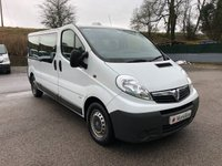 USED 2013 13 VAUXHALL VIVARO 2900 NINE SEAT MINIBUS 2.0CDTI 115PS *SIX MONTHS AA WARRANTY*