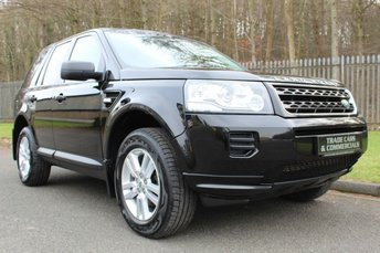 2013 LAND ROVER FREELANDER 2.2 TD4 BLACK AND WHITE 5d 150 BHP £11500.00