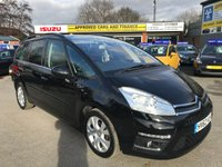 2012 CITROEN C4 GRAND PICASSO 1.6 PLATINUM HDI 5d 110 BHP IN IMMACULATE CONDITION WITH ONLY 21000 MILES. £7499.00