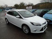 USED 2013 63 FORD FOCUS 1.0 SCTi EcoBoost Zetec 5dr FULL SERVICE HISTORY