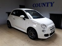 USED 2013 63 FIAT 500 1.2 S 3d 69 BHP * LOW MILEAGE * SERVICE HISTORY *