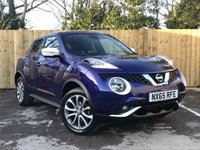 USED 2015 65 NISSAN JUKE 1.5 TEKNA DCI 5d 110 BHP Service History, Full Leather Interior