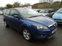 USED 2010 10 FORD FOCUS 1.6 Zetec 3dr FULL SERVICE HISTORY