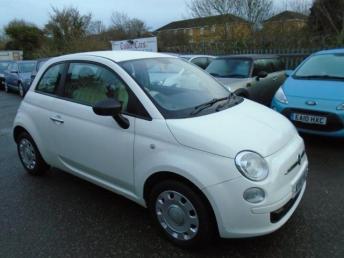 2010 FIAT 500 1.2 Pop (s/s) 3dr £3695.00