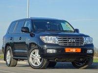 USED 2011 11 TOYOTA LAND CRUISER 4.5 V8 D-4D 5d AUTO 286 BHP