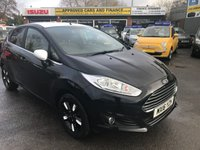 USED 2016 16 FORD FIESTA 1.0 ZETEC BLACK EDITION AUTUMN 5 DOOR 99 BHP IN BLACK WITH WHITE ROOF AND MIRRORS AND ONLY 17000 MILES APPROVED CARS ARE PLEASE TO OFFER THIS FORD FIESTA 1.0 ZETEC BLACK EDITION AUTUMN 5 DOOR 99 BHP IN BLACK WITH A WHITE ROOF,MIRRORS AND WHEELS WITH A GREAT SPEC INCLUDING DAB RADIO,ELECTRIC RETRACTABLE MIRRORS,HEATED FRONT SCREEN,LEATHER STEERING WHEEL AND MUCH MORE WITH A FULL SERVICE HISTORY WITH 2 STAMPS IN THE SERVICE BOOK.A GREAT LOOKING DRIVING CAR AN IDEAL YOUNG PERSONS CAR.