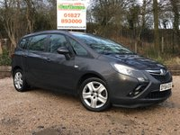 USED 2014 64 VAUXHALL ZAFIRA TOURER 1.4 EXCLUSIV 5dr Parking Sensors, Cruise