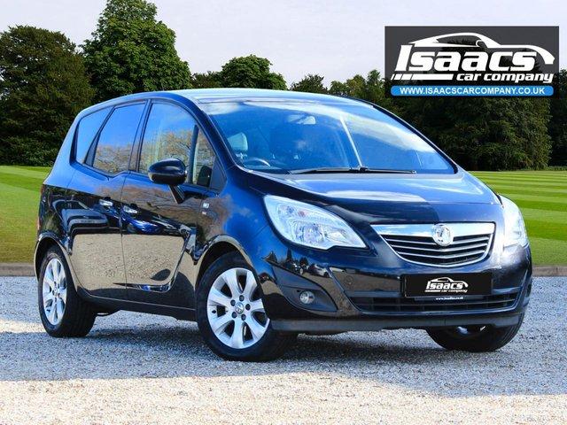 2011 61 VAUXHALL MERIVA 1.4 SE 5d 138 BHP