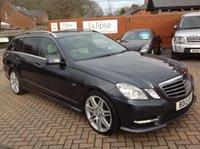 2012 MERCEDES-BENZ E CLASS 2.1 E250 CDI BLUEEFFICIENCY SPORT 5d AUTO 204 BHP £11995.00