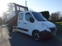 2016 RENAULT MASTER LL35 BUSINESS DOUBLE CAB TIPPER 2.3 DCI 125 PS £12995.00