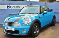 2013 MINI CONVERTIBLE 1.6 ONE  £7990.00