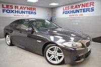 2013 BMW 5 SERIES 2.0 520D M SPORT 4d AUTO 181 BHP £12999.00