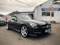 "USED 2014 14 MERCEDES-BENZ SLK 2.1 SLK250 CDI BLUEEFFICIENCY AMG SPORT 2d AUTO 204 BHP 36484 Miles, 18"" AMG Alloys, Sat Nav, Bluetooth!"