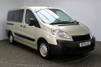 USED 2013 13 PEUGEOT EXPERT 2.0 HDI TEPEE COMFORT L2 5DR 98 BHP WHEEL CHAIR ACCESS 1 OWNER SERVICE HISTORY + WHEEL CHAIR ACCESS + AIR CONDITIONING + RADIO/CD + ELECTRIC WINDOWS + ELECTRIC WINDOWS
