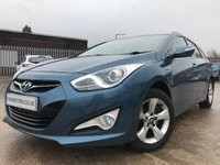 2014 HYUNDAI I40 1.7 CRDI STYLE BLUE DRIVE 5d 134BHP ESTATE £8290.00