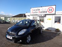 USED 2010 10 TOYOTA YARIS 1.3 TR VVT-I 5 DOOR 99 BHP £22 PER WEEK, NO DEPOSIT - SEE FINANCE LINK