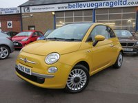 2012 FIAT 500 1.2 LOUNGE 3d 69 BHP £SOLD