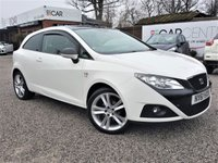 USED 2012 61 SEAT IBIZA 1.2 TSI SPORTRIDER 3d 103 BHP 1 PREVIOUS OWNER +FULL SERVICE