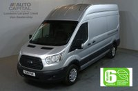 USED 2018 18 FORD TRANSIT 2.0 350 L3 H3 130 BHP LWB H/ROOF TREND EURO 6 VAN EURO 6 NEW 18 PLATE MODEL TREND