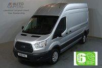 USED 2018 18 FORD TRANSIT 2.0 350 L3 H3 130 BHP LWB H/ROOF TREND EURO 6 VAN EURO 6 NEW 18 PLATE TREND