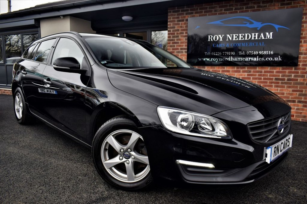 USED 2015 65 VOLVO V60 2.0 D3 BUSINESS EDITION 5DR 148 BHP *** SAT NAV - 1 OWNER - SENSORS ***