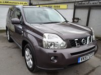 USED 2007 57 NISSAN X-TRAIL 2.0 AVENTURA EXPLORER DCI 5d AUTO 148 BHP * SAT NAV - LEATHER - SUNROOF *