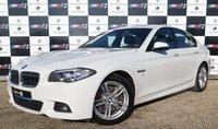 USED 2014 02 BMW 5 SERIES 3.0 535D M SPORT 4d AUTO 309 BHP