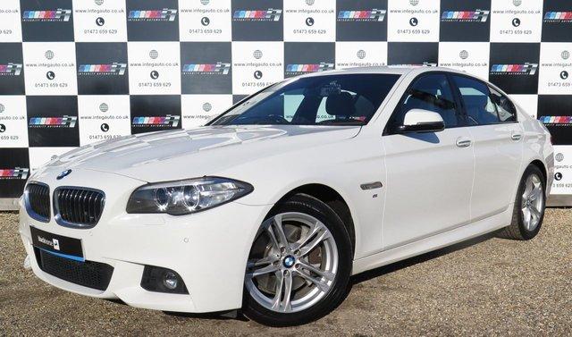 2014 02 BMW 5 SERIES 3.0 535D M SPORT 4d AUTO 309 BHP