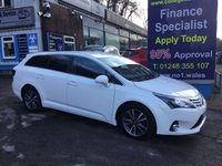 USED 2014 14 TOYOTA AVENSIS 2.0 D-4D ICON BUSINESS EDITION 5d 124 BHP, only 49500 miles ***GREAT FINANCE DEALS AVAILABLE***