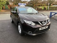 USED 2014 14 NISSAN QASHQAI 1.2 ACENTA DIG-T SMART VISION 5d 113 BHP Buy with confidence from a garage that has been established  for more than 25 years.