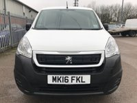 USED 2016 16 PEUGEOT PARTNER 1.6 HDI BLUE PROFESSIONAL 100 BHP **LOW MILES**